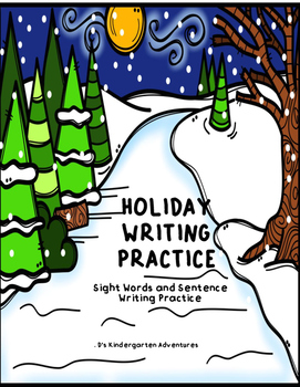Holiday Writing Practice