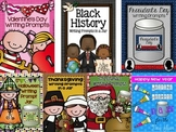 Holiday Writing Prompt Bundle