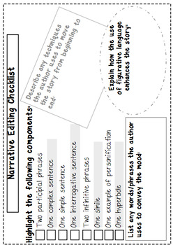 Holiday Writing Prompt Task Cards and Editing Cards