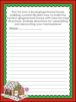 Holiday Writing Prompts