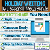 HOLIDAY WRITING PROMPTS MEGA BUNDLE!!  29 Lessons!!! - Hig