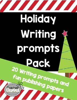 Holiday Writing Prompts Pack