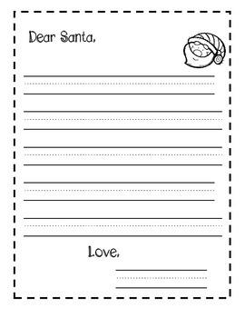 Holiday Writing Sheets