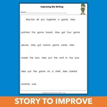 Christmas Writing Activities to Improve Narrative Writing