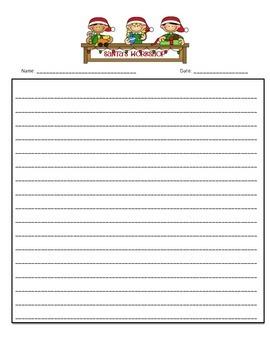 Holiday Writing Templates