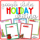 Holiday Writing Templates for Google Slides
