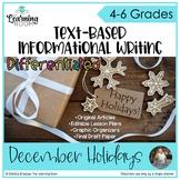 Holiday Writing - Text Based
