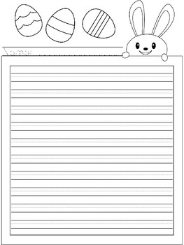 Holiday Writing Themed Paper and Friendly Letter Templates