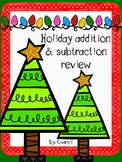 Holiday addition and subtraction