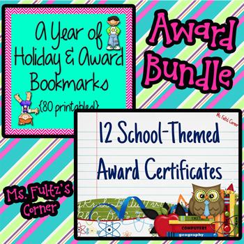 Holiday and Award BUNDLE