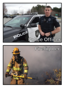 Holiday and Community Helpers Visual Cards