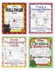 Holiday and Greeting Cards BUNDLE Differentiated - Special Ed / Autism