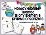 Holiday and Monthly Themed Graphic Organizers
