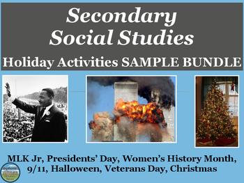 Holiday and Seasonal Activities Mini-Bundle