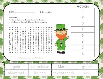 Holiday and Seasonal Word Search with ABC Order - 7 Pack