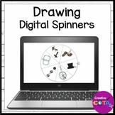 Holiday and Seasonal Drawing Digital Spinners