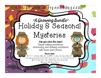 Holiday and Seasonal Mysteries - A Growing Bundle