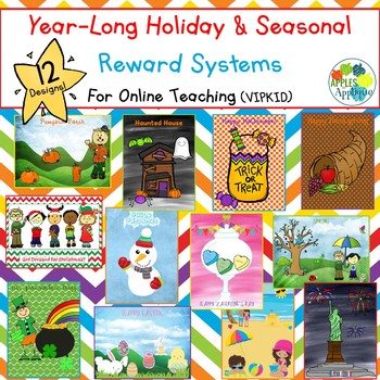 Reward Systems for Online Teaching - Year-long Holiday / Seasonal