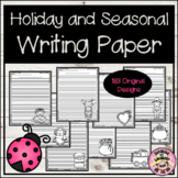 Holiday and Seasonal Writing Paper Bundle