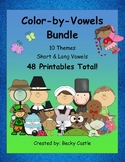 Color By Vowels Bundle