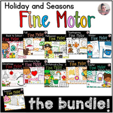 Holiday and Seasons Fine Motors Activities Bundle