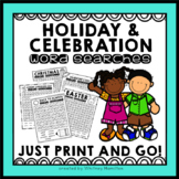 Holiday and Special Celebrations Word Searches {FOR THE WH