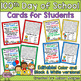 Holiday and Special Day Cards for Students Bundle - editable & in black & white