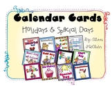 Holiday and Special Days Calendar Cards