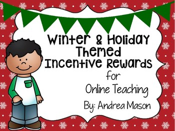 Winter and Holiday Incentive Rewards for Online Teaching (VIPKid)