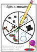 Holiday and Winter Math Centers Bundle Roll and Draw