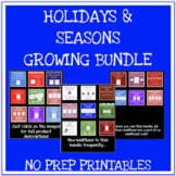 Holiday and seasonal no prep games, worksheets and more GR