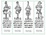 Holiday bookmarks for gifts