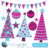 Holiday christmas clipart commercial use, vector graphics - CL399