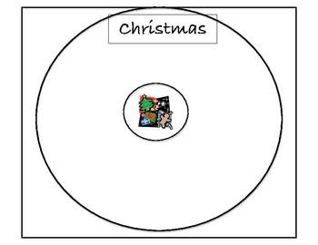 Holiday circle maps
