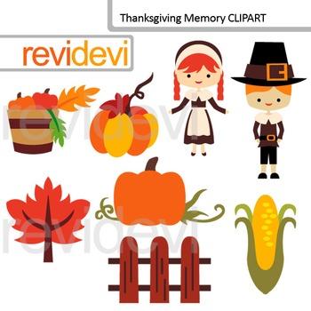 Holiday clip art Thanksgiving memory