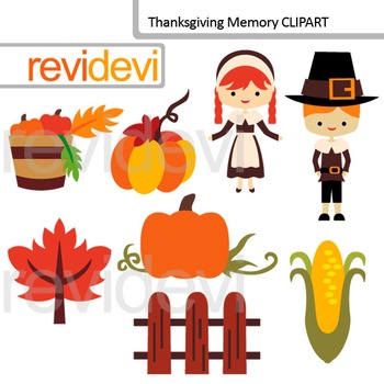 Holiday clip art Thanksgiving memory