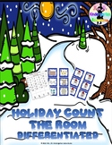 Holiday Count the Room - Differentiated