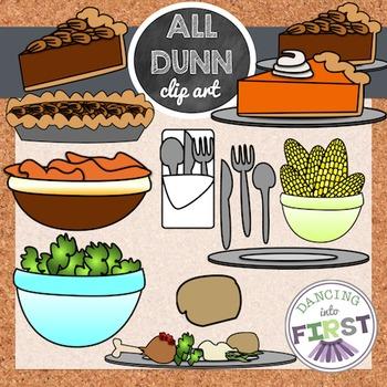 Holiday food clip art