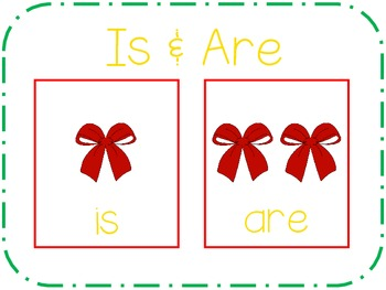 Holiday is/are: A Grammar Activity for Preschoolers
