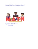 Holiday math Facts Worksheets Book I