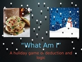 What Am I? Winter Mystery Puzzle Game - Literacy - Powerpoint - ESL SPED K 1st