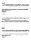 Holiday or End of Year Party Letter for Parents
