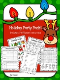 Holiday party games and activities