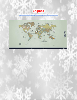 Holiday's Around the World-Virtual Field Trips