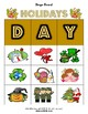 Holidays of the Year Matching / Bingo Boards + Flashcards