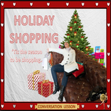 Holiday shopping – ESL adult conversation