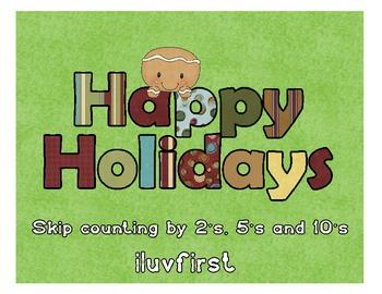 Holiday skip counting