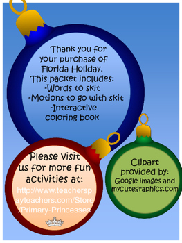 Holiday song Florida
