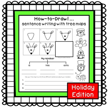 Sentence writing activities {holiday edition}