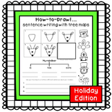 Sentence writing activities {holiday edition}